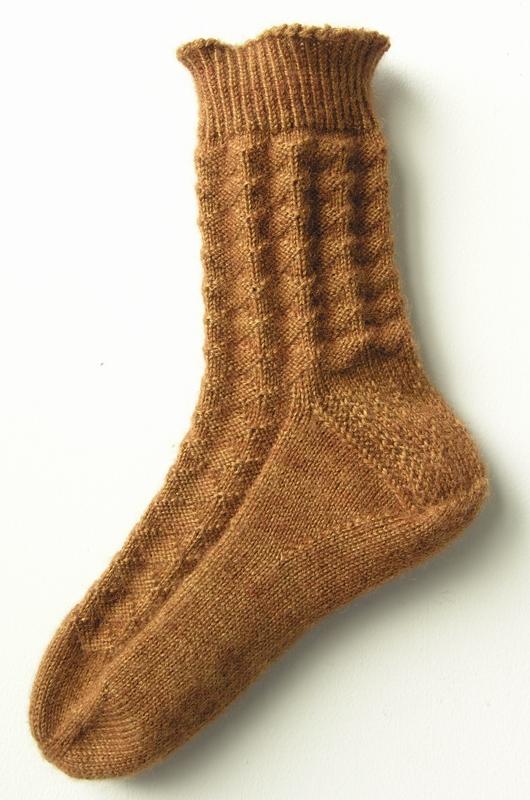 Diamond Waffle Socks All Knittings Great And Small